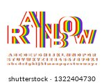bright and colorful font in... | Shutterstock .eps vector #1322404730
