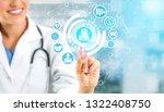 health insurance concept  ... | Shutterstock . vector #1322408750