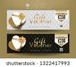 collection of discount voucher... | Shutterstock .eps vector #1322417993