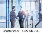 businessmen and businesswoman... | Shutterstock . vector #1322432216