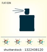 perfume  eau de toilette ... | Shutterstock .eps vector #1322438120
