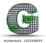 Concrete Capital Letter   G...