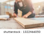 carpenter working with... | Shutterstock . vector #1322466050
