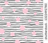 wavy uneven stripes  pinstripes ... | Shutterstock .eps vector #1322492783