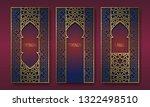 golden packaging design in... | Shutterstock .eps vector #1322498510