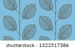 seamless pattern from leaves | Shutterstock .eps vector #1322517386