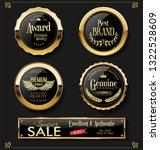 super sale retro vintage labels ... | Shutterstock .eps vector #1322528609