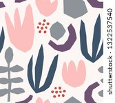 seamless repeating pattern with ... | Shutterstock .eps vector #1322537540