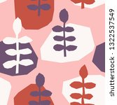 seamless repeating pattern with ... | Shutterstock .eps vector #1322537549