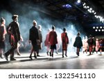 blurred on purpose fashion show ... | Shutterstock . vector #1322541110