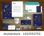 corporate business  identity... | Shutterstock .eps vector #1322552753