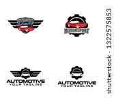 automotive logo design | Shutterstock .eps vector #1322575853