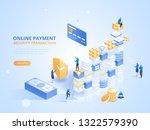 internet banking. online...   Shutterstock .eps vector #1322579390