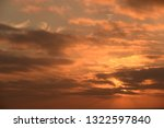 clouds in the sky on the... | Shutterstock . vector #1322597840