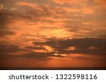 clouds in the sky on the... | Shutterstock . vector #1322598116