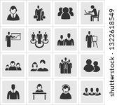 set users for business. a... | Shutterstock .eps vector #1322618549