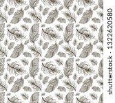 seamless pattern on white...   Shutterstock . vector #1322620580