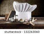 composition in kitchen | Shutterstock . vector #132263060