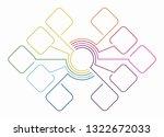 infographic design template...   Shutterstock . vector #1322672033