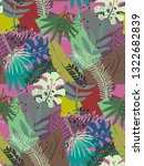 beautiful seamless pattern with ... | Shutterstock .eps vector #1322682839