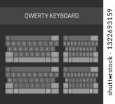 qwerty keyboard full set....