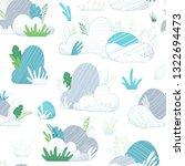 vector seamless pattern of...   Shutterstock .eps vector #1322694473