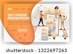 seo online promotion vector web ...