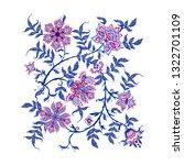 ethnic pattern element in... | Shutterstock .eps vector #1322701109