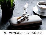 elimination of tobacco smoking... | Shutterstock . vector #1322732003