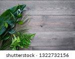 spring composition. young green ... | Shutterstock . vector #1322732156