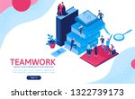 teamwork 3d isometric...
