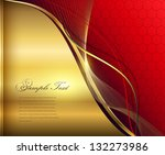 elegant abstract background red ...