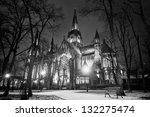 church of st. olga and... | Shutterstock . vector #132275474