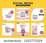 modern promotion square web... | Shutterstock .eps vector #1322772329