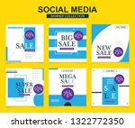 modern promotion square web... | Shutterstock .eps vector #1322772350
