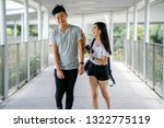 a young chinese teenaged guy... | Shutterstock . vector #1322775119