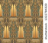 medieval architectual elements. ...   Shutterstock .eps vector #1322784320