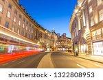 regent street in london at night   Shutterstock . vector #1322808953