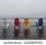 Colorful Wooden Muskoka...