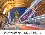 tower bridge in london at night   Shutterstock . vector #1322814239