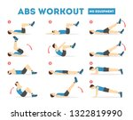 Abs Workout For Men. Sport...