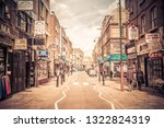 london  uk   may 3  2018  ...   Shutterstock . vector #1322824319