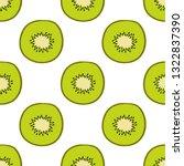 vector tropical seamless...   Shutterstock .eps vector #1322837390