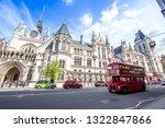 london  uk   may 02  2018  ...   Shutterstock . vector #1322847866