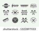 set of vintage carpentry ...   Shutterstock .eps vector #1322897033