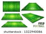 football field  soccer field... | Shutterstock . vector #1322940086