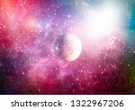 night sky  star in the space.... | Shutterstock . vector #1322967206