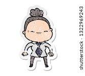 distressed sticker of a cartoon ...   Shutterstock .eps vector #1322969243