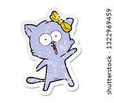 distressed sticker of a cartoon ...   Shutterstock .eps vector #1322969459