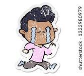 distressed sticker of a cartoon ...   Shutterstock .eps vector #1322980979